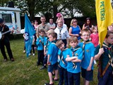 1st Woodmansterne Beavers at the May Day Fair 2013