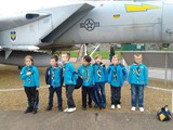 Beavers and a jet 2